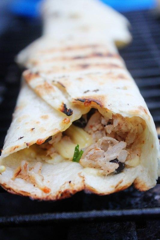 Grilled Southwest Chicken Burritos