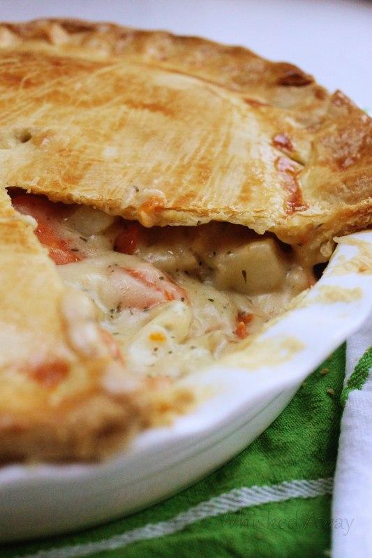 {Country Style} Rotisserie Chicken Pot Pie